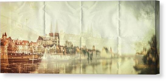 The Imprint Canvas Print
