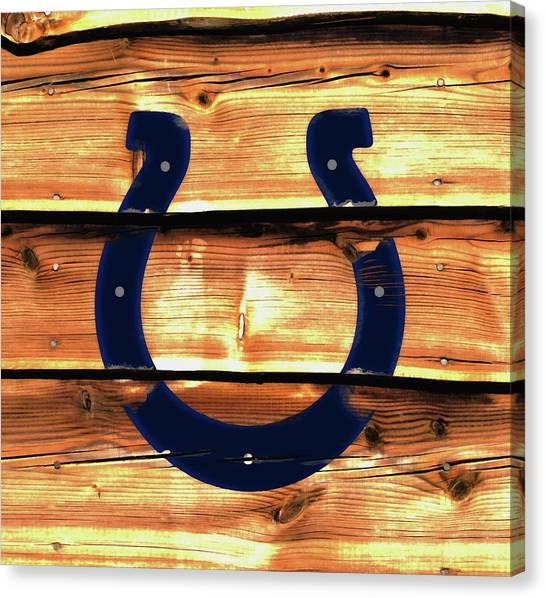 Ben Roethlisberger Canvas Print - The Indianapolis Colts W1     by Brian Reaves