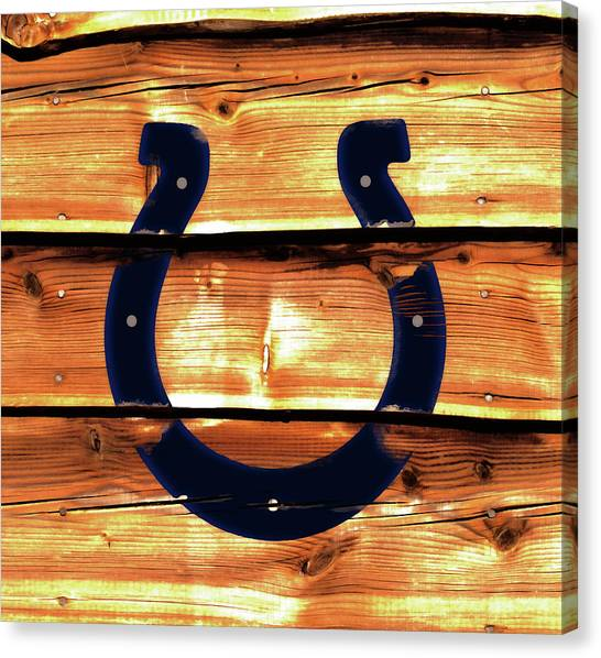 Ben Roethlisberger Canvas Print - The Indianapolis Colts W2     by Brian Reaves