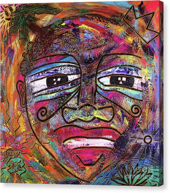 The Indigo Child Canvas Print