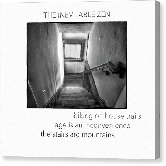 The Inevitable Zen  Canvas Print by Steven Digman