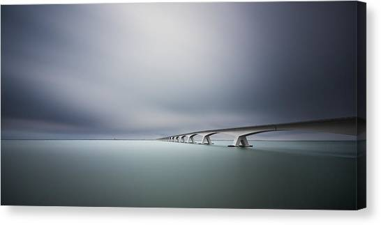 The Infinite Bridge Canvas Print by Arthur Van Orden