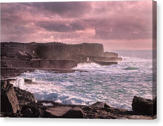 Tumbling Canvas Print - The Inishmore Spell by Betsy Knapp