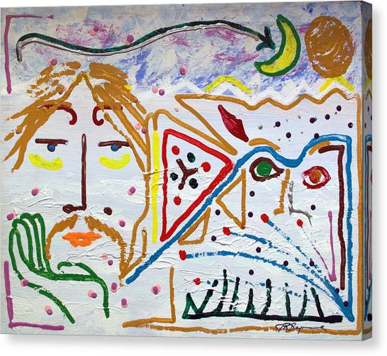 The Introspection Canvas Print