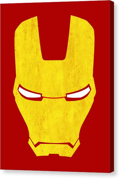 Avengers Canvas Print - The Iron Man by Mark Rogan