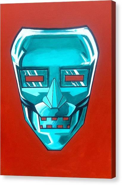 The Iron Mask Canvas Print by George Penon Cassallo