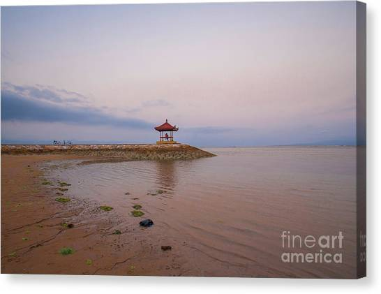 The Island Of God #9 Canvas Print