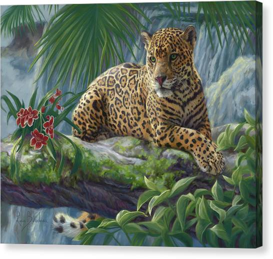 The Jaguar Canvas Print