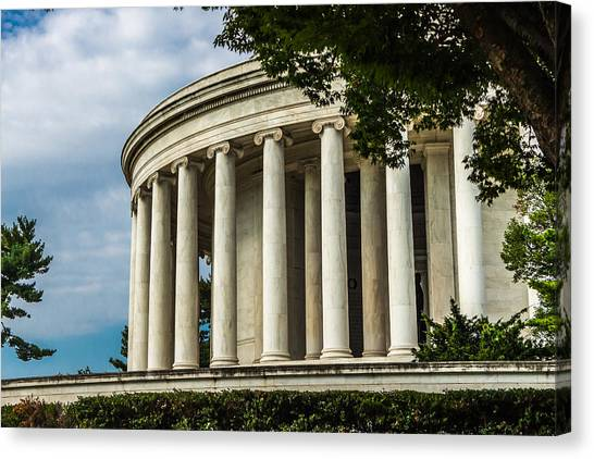 The Jefferson Memorial Canvas Print