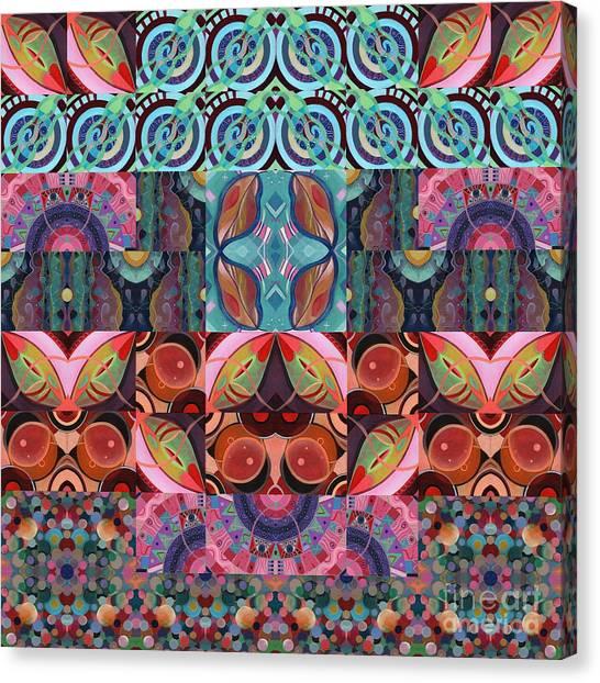 The Joy Of Design Mandala Series Puzzle 7 Arrangement 3 Canvas Print