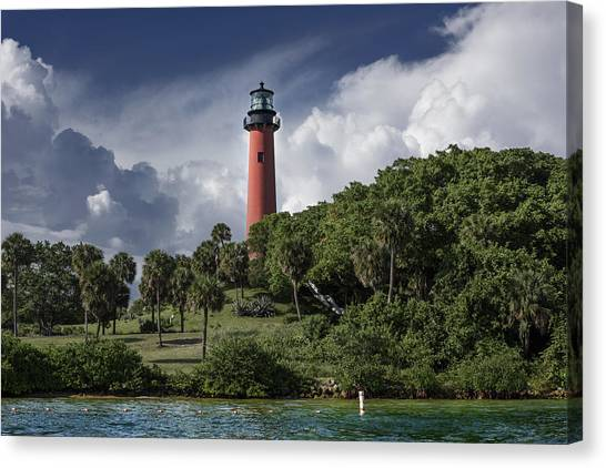 The Jupiter Inlet Lighthouse Canvas Print