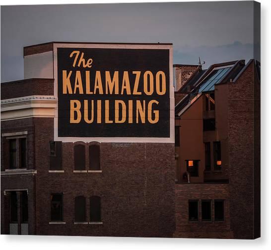 The Kalamazoo Building Canvas Print