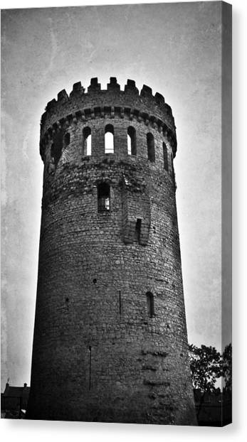 The Keep At Nenagh Castle In Nenagh Ireland Canvas Print