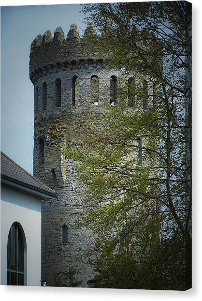 The Keep At Nenagh Castle Ireland Canvas Print