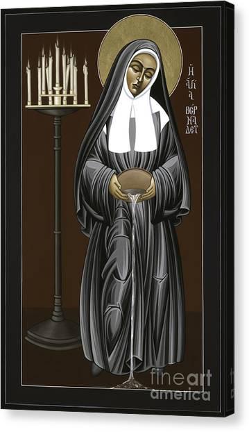 The Kenosis Of St Bernadette Of Lourdes 063 Canvas Print
