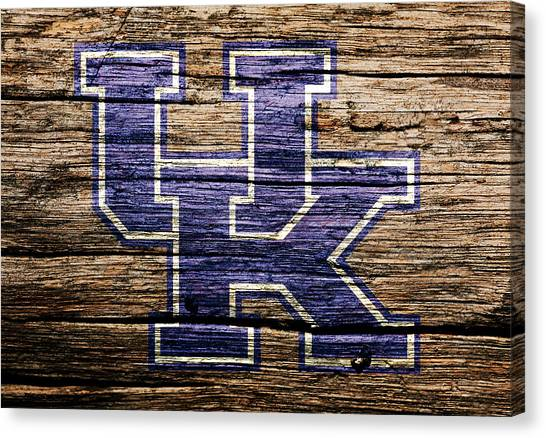 University Of Kentucky Canvas Print - The Kentucky Wildcats  by Brian Reaves