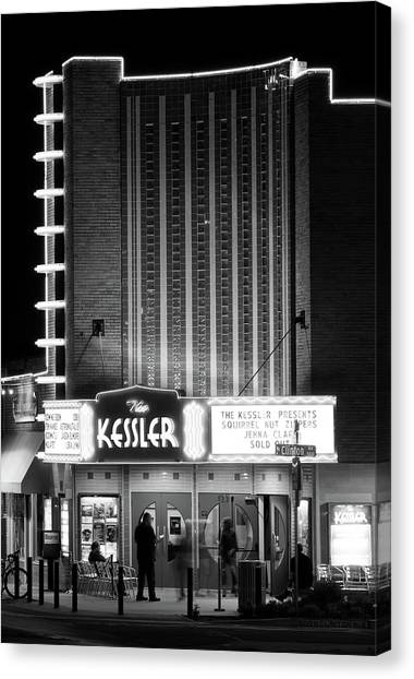 The Kessler V2 091516 Bw Canvas Print