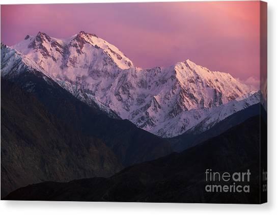 The Killer Mountain Canvas Print