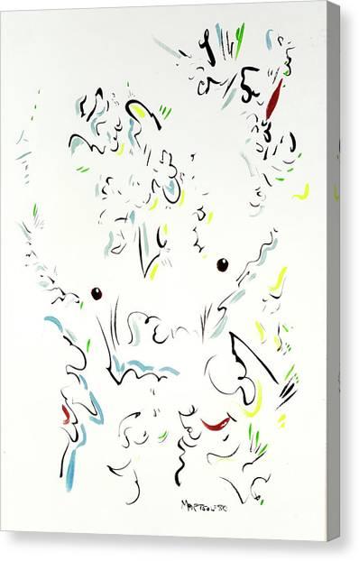 Canvas Print - The Kindly Minotaur by Dave Martsolf