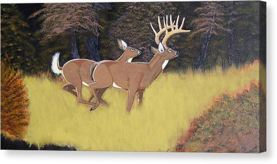 The King And Queen Canvas Print by Dalton Shiflet
