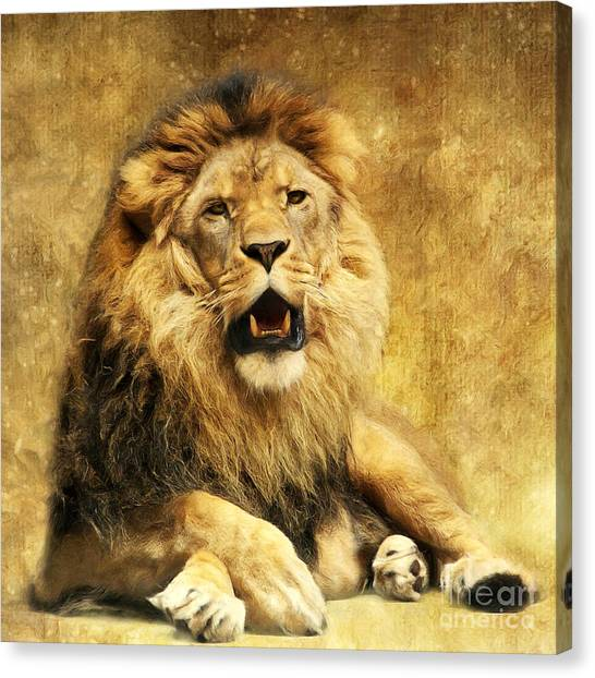 Lion King Canvas Prints | Fine Art America