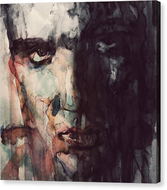 Elvis Presley Canvas Print - The King by Paul Lovering