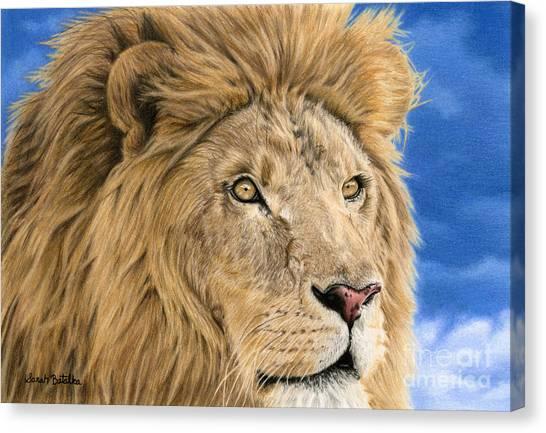 Carnivore Canvas Print - The King by Sarah Batalka