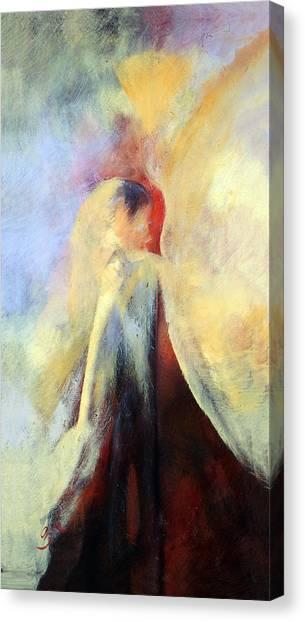 Canvas Print - The Kiss by Zoe Landria