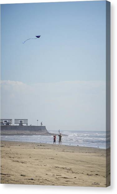 The Kite Fliers Canvas Print