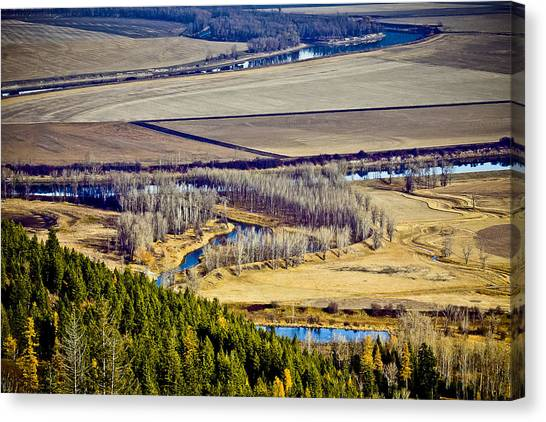 The Kootenai Valley Canvas Print