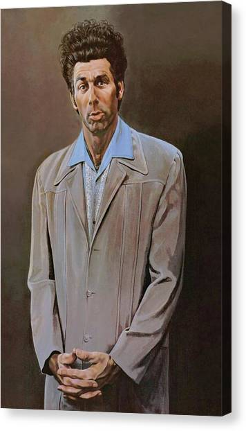 The Kramer Portrait  Canvas Print