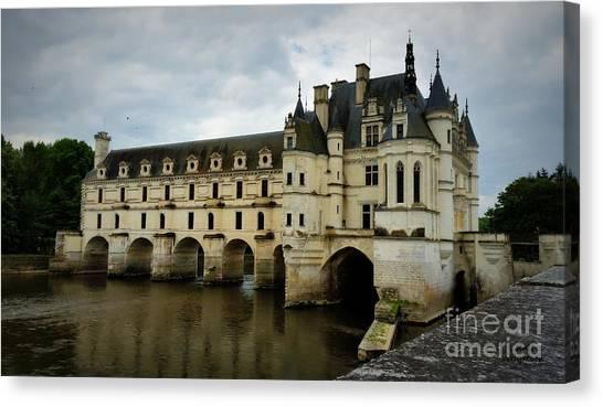 Chenonceau Castle Canvas Print - The Ladies Chateau by Lainie Wrightson