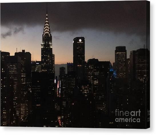 The Lady Chrysler Canvas Print