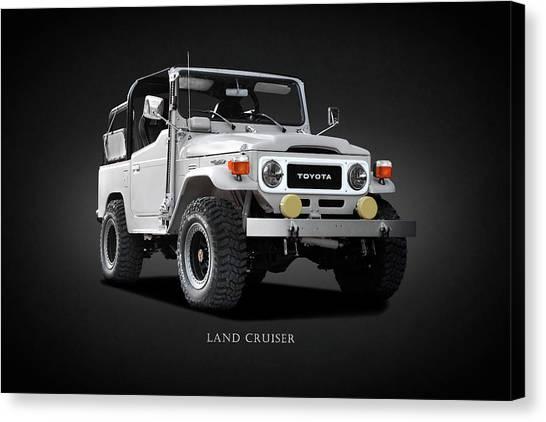 Utility Canvas Print - The Land Cruiser by Mark Rogan