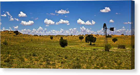 The Land Of The Free Canvas Print by Basie Van Zyl