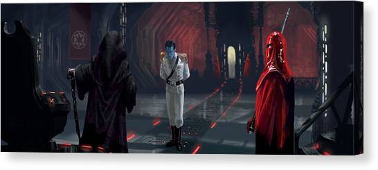 Royal Guard Canvas Print - The Last Grand Admiral by Ryan Barger