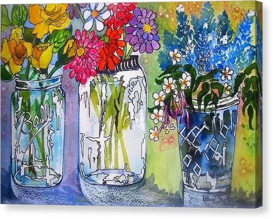 The Last Jars Canvas Print