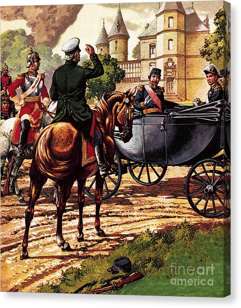 Rulers Canvas Print - The Last Of The French Kings by Pat Nicolle
