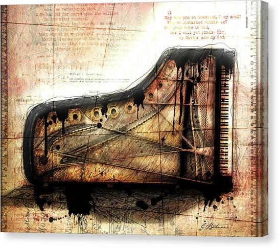 The Last Sonata Canvas Print