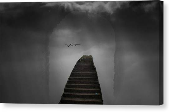 The Last Steps Canvas Print