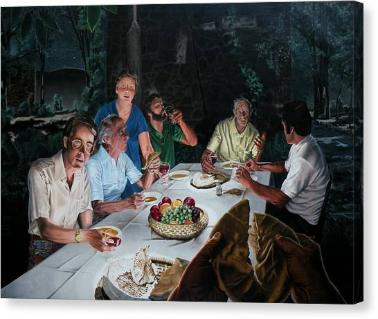 Last Canvas Print - The Last Supper by Dave Martsolf