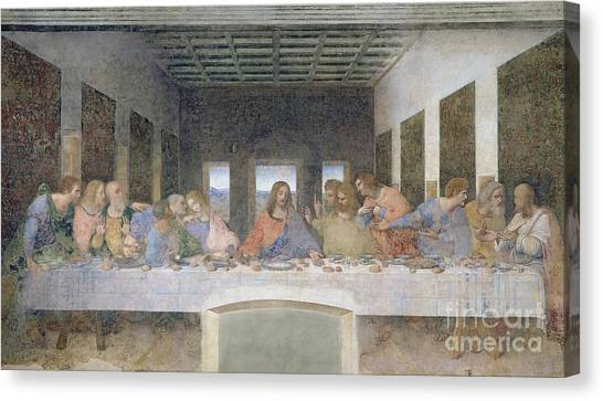 Saints Canvas Print - The Last Supper by Leonardo da Vinci