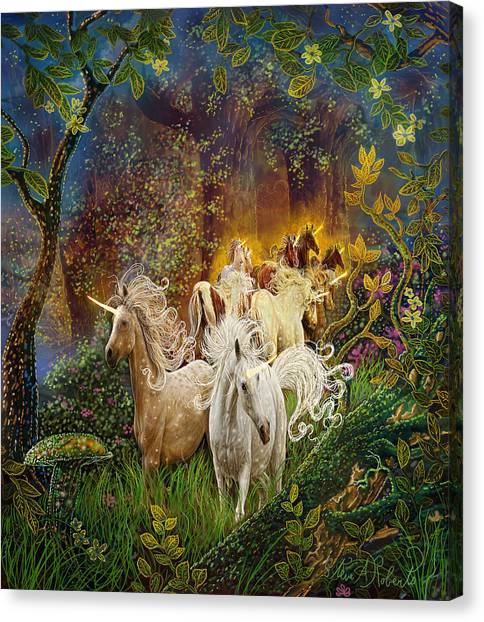 The Last Unicorns Canvas Print