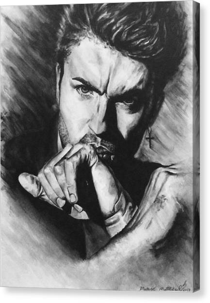 The Late Great George Michaels Canvas Print