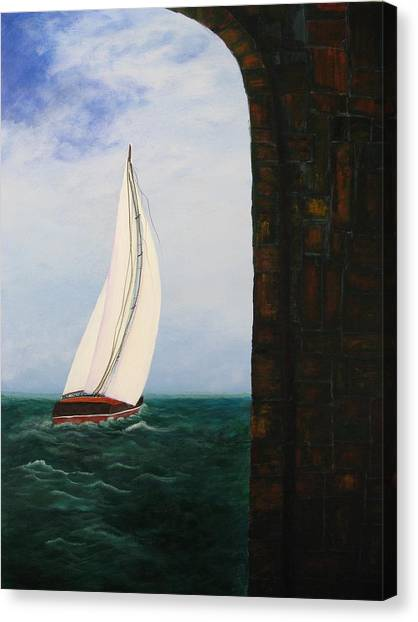 The Laurenda Canvas Print by Betty Reineke