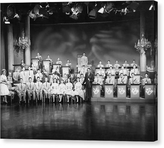 Big Sister Canvas Print - The Lawrence Welk Show by Underwood Archives