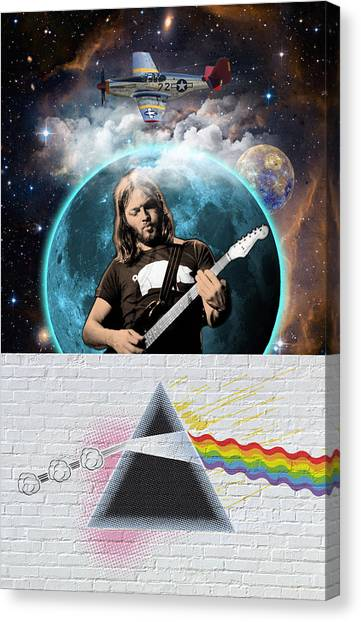Pink Floyd Canvas Print - The Leader Of The Band by Gary Grayson