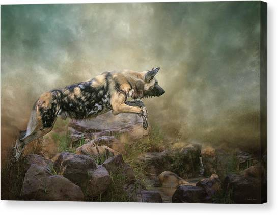The Leap Canvas Print