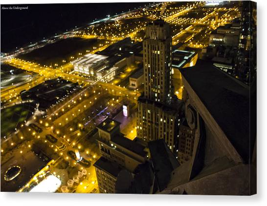 Lake Michigan Canvas Print - The Ledge by Tyler Adams