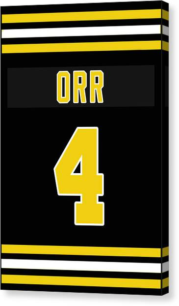 Bobby Orr Canvas Print - The Legend Bobby Orr by Positive Images